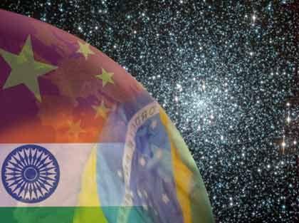 Gewichtsverschiebung: Schwellenländer wie Brasilien, China und Indien werden für eine Verschiebung der Kaufkraft sorgen