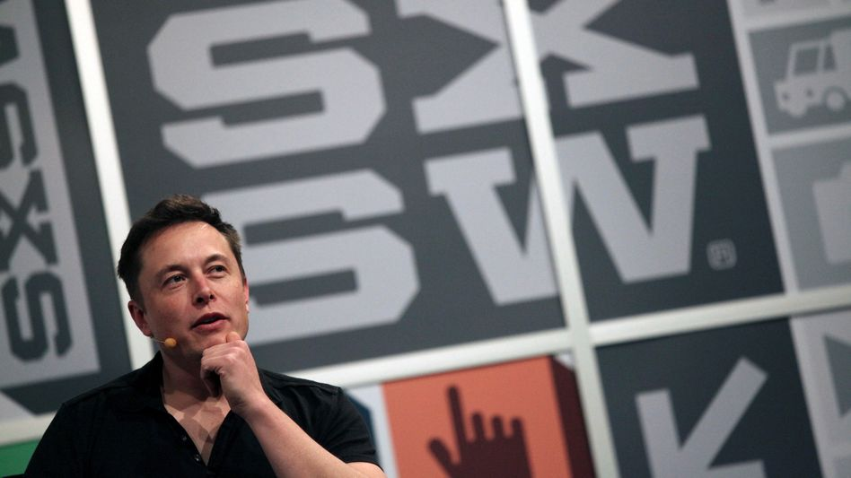 South by Southwest: Festivalauftritt von Tesla-Chef Elon Musk in Austin im Jahr 2013