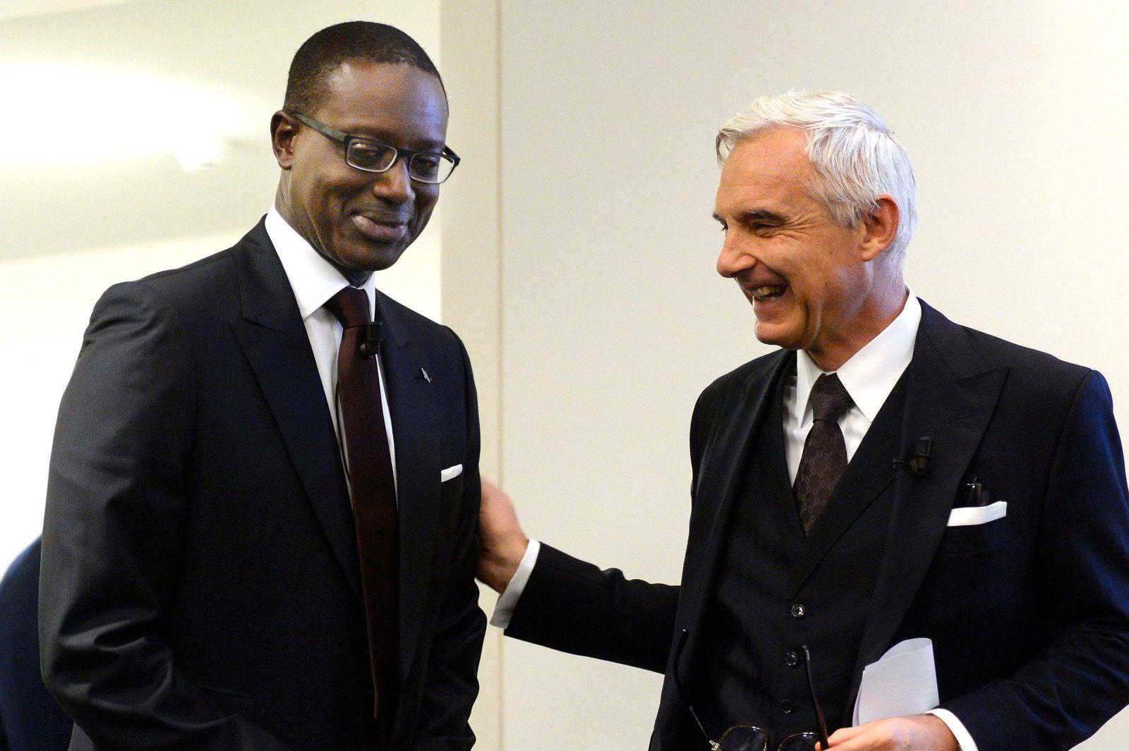 Tidjane Thiam; Urs Rohner - Credit Suisse