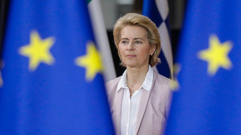 Ursula von der Leyen: Ein Corona-Konjunkturpaket
