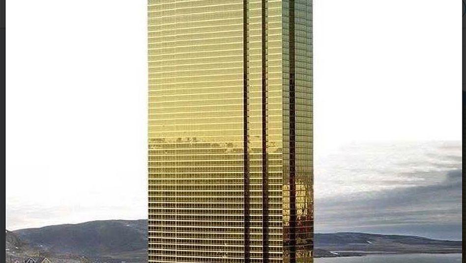 Trump-Tower in Grönland? Der US-Präsident dementiert erst mal...