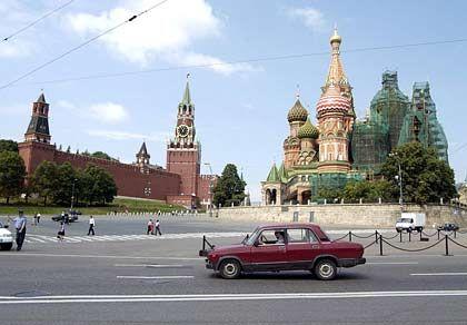 Blick auf den Roten Platz in Moskau: Kreditblase gefährdet die Banken