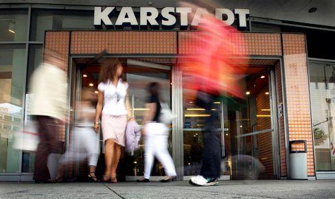 Bald mit Kaufhof-Logo? Eine Karstadt-Filiale in Frankfurt