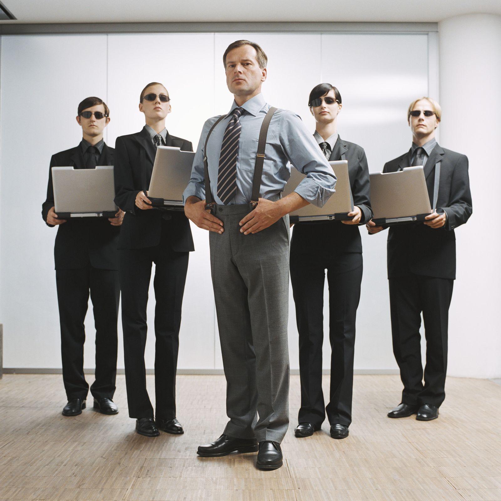 NICHT MEHR VERWENDEN! - Manager / Boss / Führungskraft / Chef