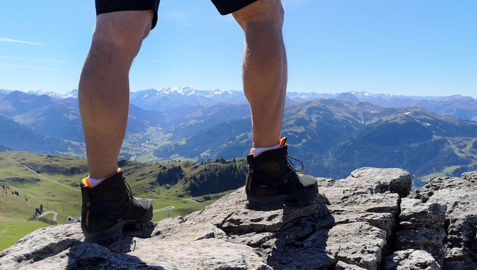 Wandern in Österreich (hier Kitzbühler Horn) - die Chancen auf Sommerurlaub in Österreich sind groß - bei kleinen Einschränkungen.