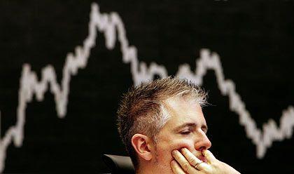 Abwärts: Der Dax verlor am Montag deutlich an Wert