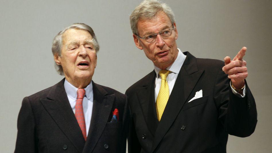 Gerhard Cromme: Große Investoren wollen den Siemens-Aufsichtsratschef nicht entlasten