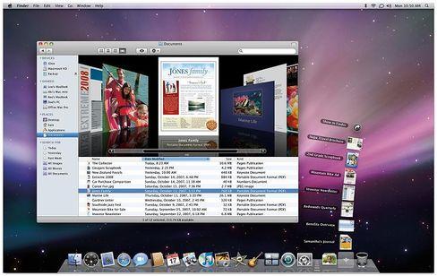 Apples Leopard: Überarbeitete Benutzeroberfläche