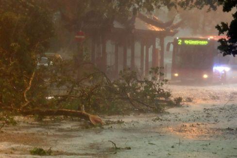 Unwetter: Der nächste Sturm könnte nicht mehr lange auf sich warten lassen