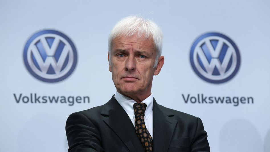 VW-Chef Matthias Müller: This is the CEO of People´s car, formerly known as Volkswagen