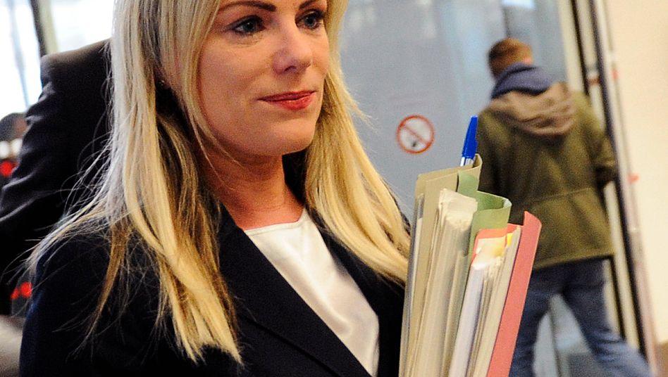 Rüge der Verteidigung zurückgewiesen: Die Richterin im Sal. Oppenheim-Prozess, Sabine Grobecker