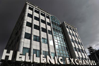 Börse in Athen: Bei Anlegern erhält Griechenland derzeit viel Kredit