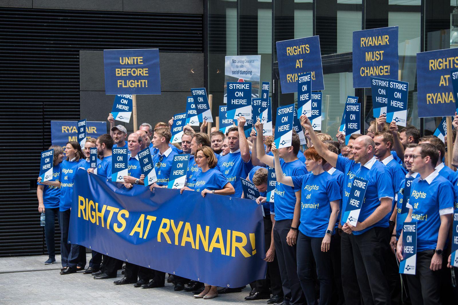 Streik Ryanair - Frankfurt