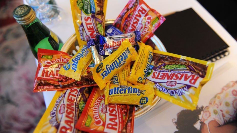 Produkte des Konsumgüterkonzerns Nestlé: Verpackungen sind das Haupteinsatzgebiet für Plastik.