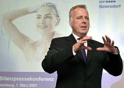 Start im Vertrieb: Beiersdorf-Chef Quaas