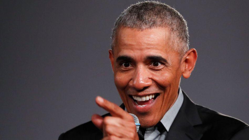 Der ehemalige US-Präsident Barack Obama sprach in Berlin vor Studenten