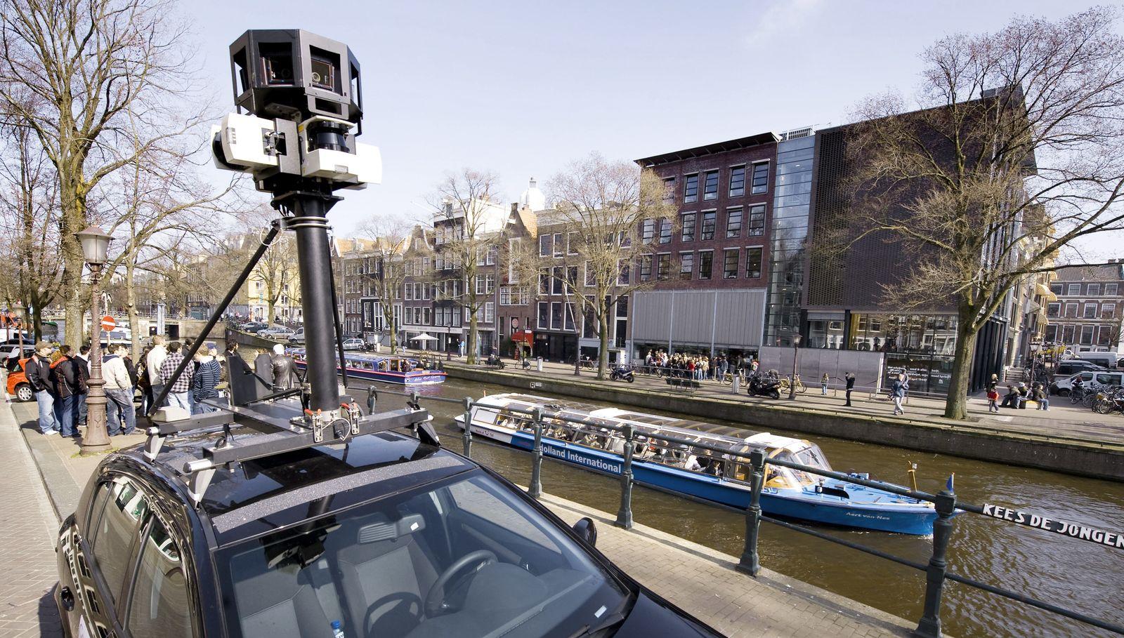 NETHERLANDS-GOOGLE-STREET VIEW