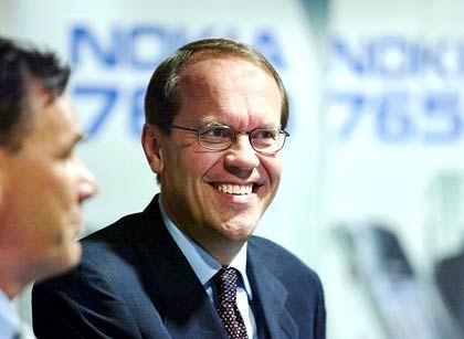 Jorma Ollila Chairman und CEO Nokia Gesamtbezüge 2003: 6,59 Mio. Euro (Platz 8 im Stoxx) Wertschaffung: -18,5 Prozent* * Durchschnitt im Stoxx: 13,8 Prozent