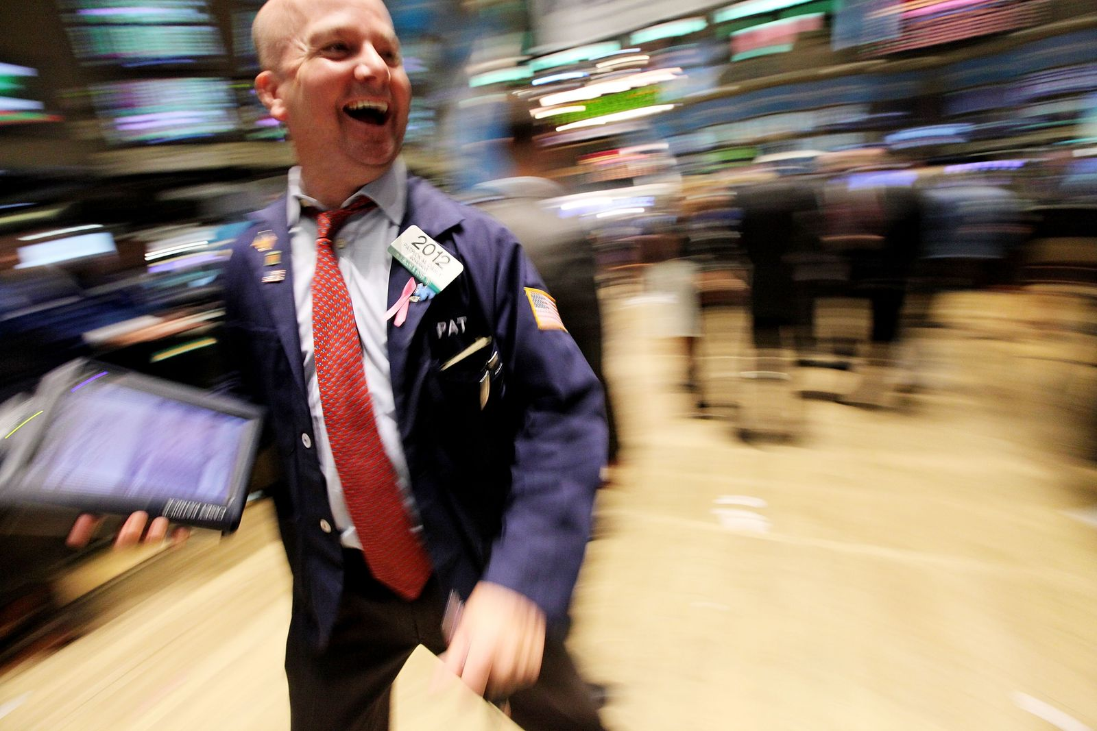 NYSE/ Händler