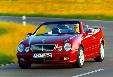 Kein Renner in den USA - der Mercedes CLK