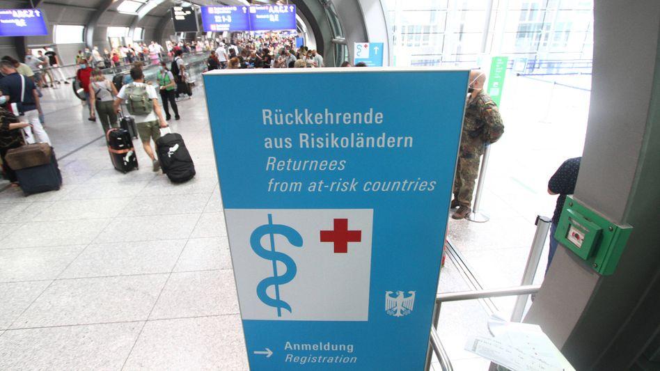 Ein negatives Testergebnis bei Einreise könnte die Quarantänepflicht für Reiserückkehrer aus Risikogebieten ersetzen, schlägt der Bundesverband der Deutschen Luftverkehrswirtschaft vor