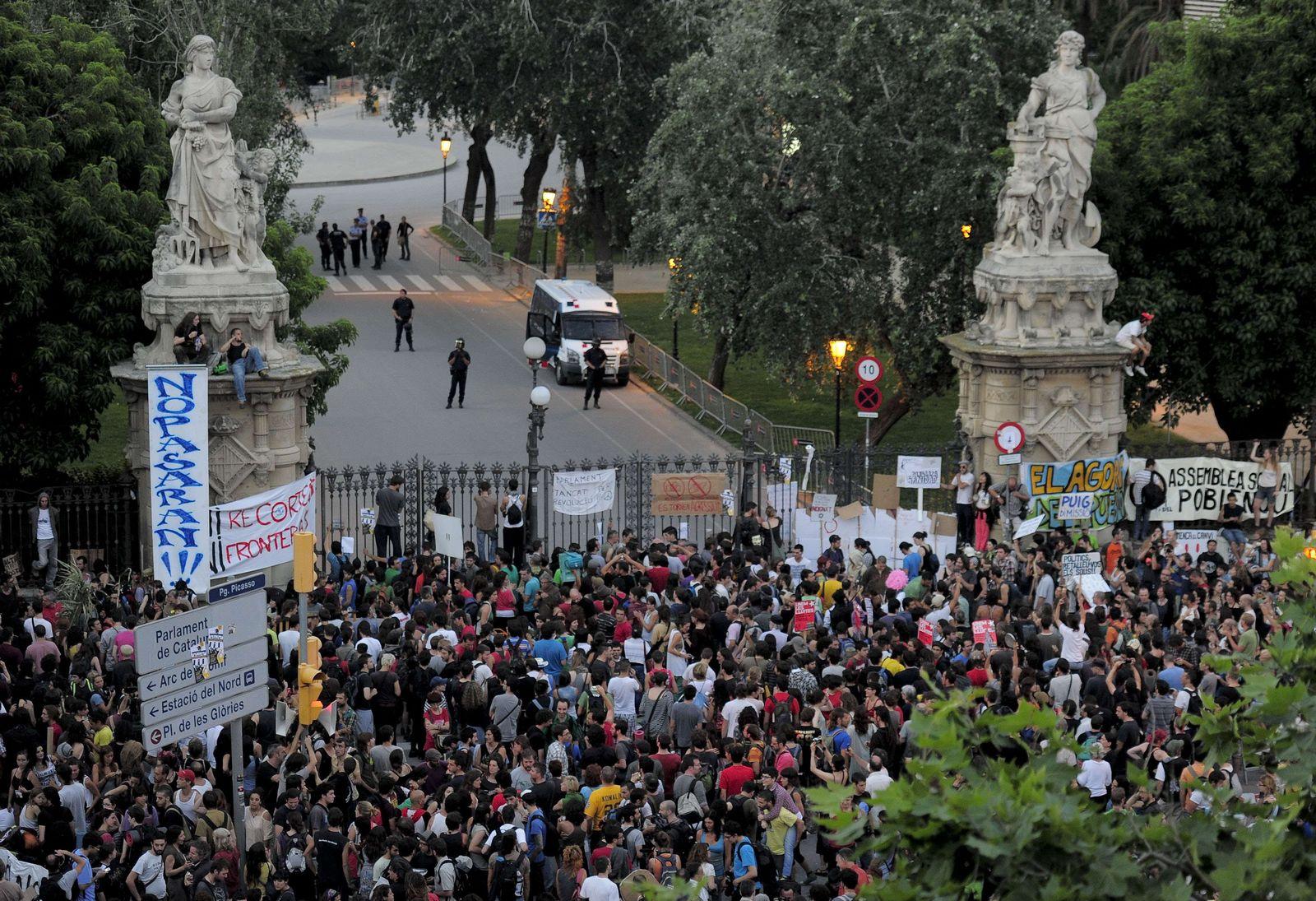 spanien neue proteste