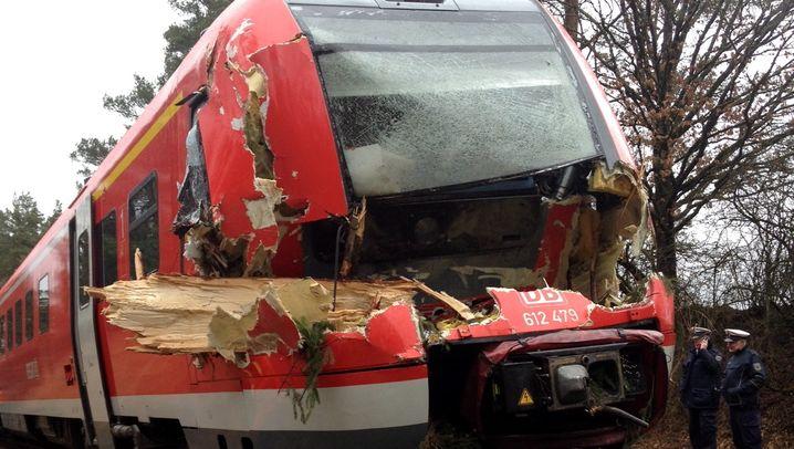 "Sturmtief ""Niklas"": Kaputte Züge, gestrandete Reisende, entwurzelte Bäume"
