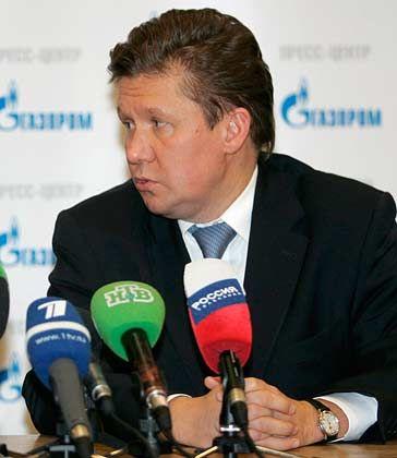 Nach OP außer Gefecht: Gazprom-Chef Miller