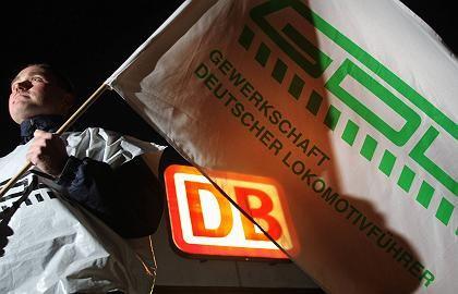 Einigung in Sicht?:Streikender Lokführer