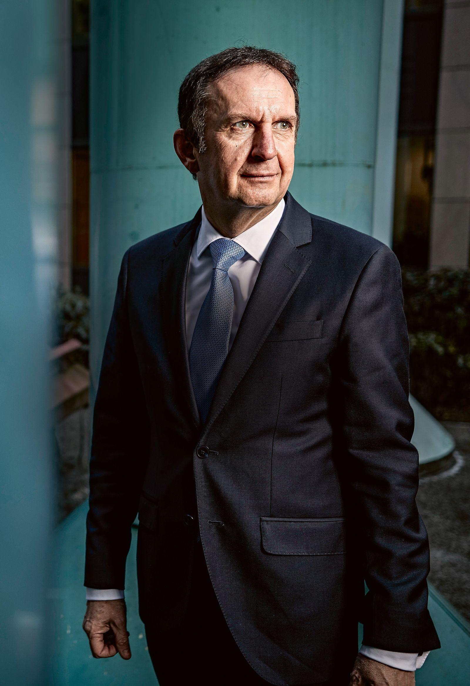 HANS VAN BEYLEN, HENKEL CEO, 25.1.2017, DUESSELDORF
