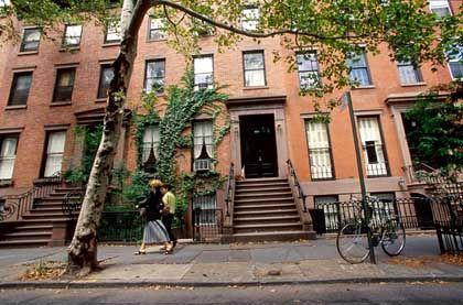 Brooklyn Heights: Geprägt von rotem Backstein