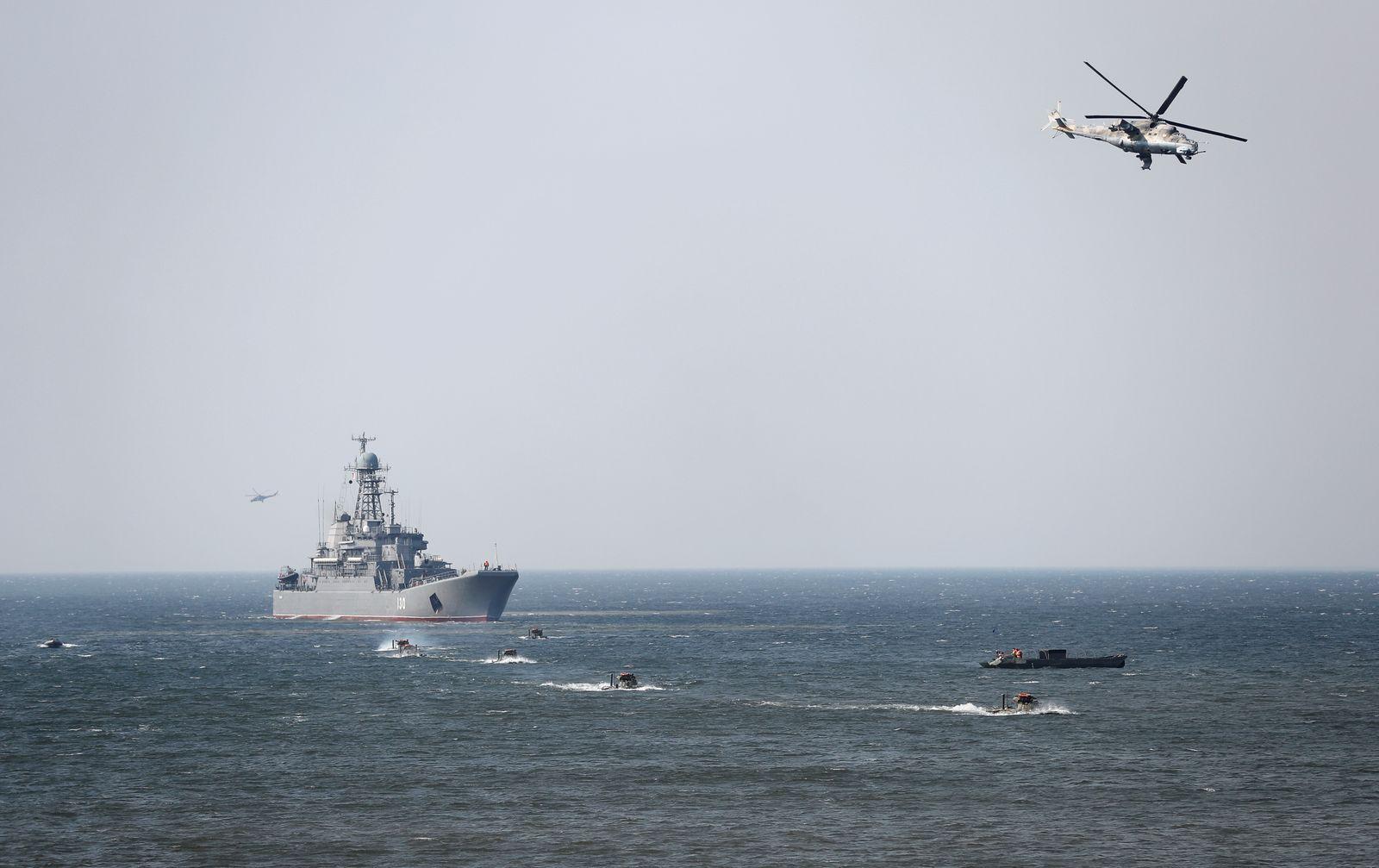 russische Marine/ Manöver Ostsee