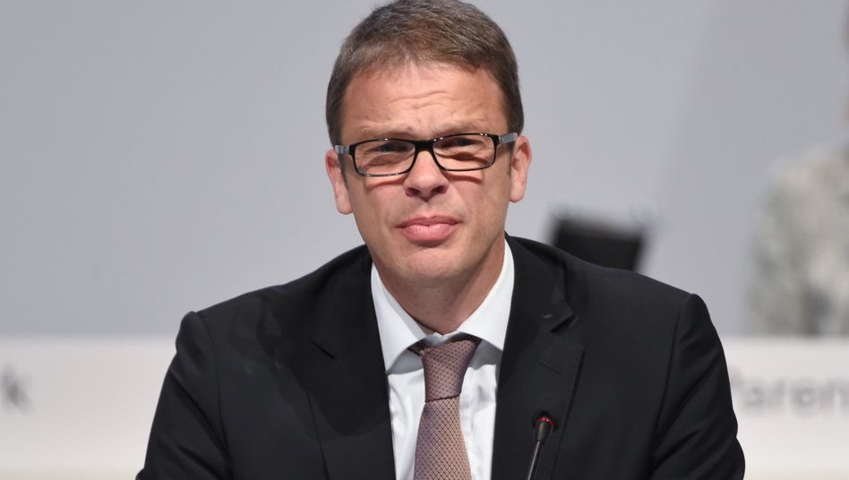 Eigengewächs: Christian Sewing auf der Hauptversammlung der Deutschen Bank