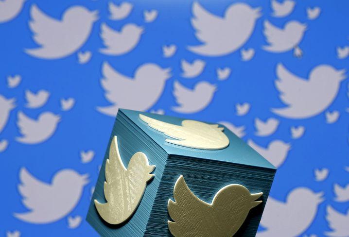 Das Twitter-Logo im 3D-Print