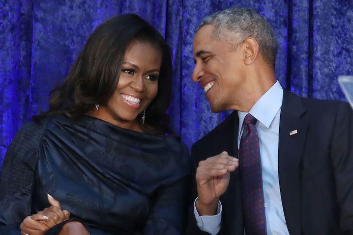 Geschäftsleute Obama.