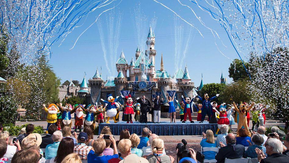 Disneyland im kalifornischen Anaheim: Der Themenpark ist wegen der Corona-Pandemie noch immer geschlossen