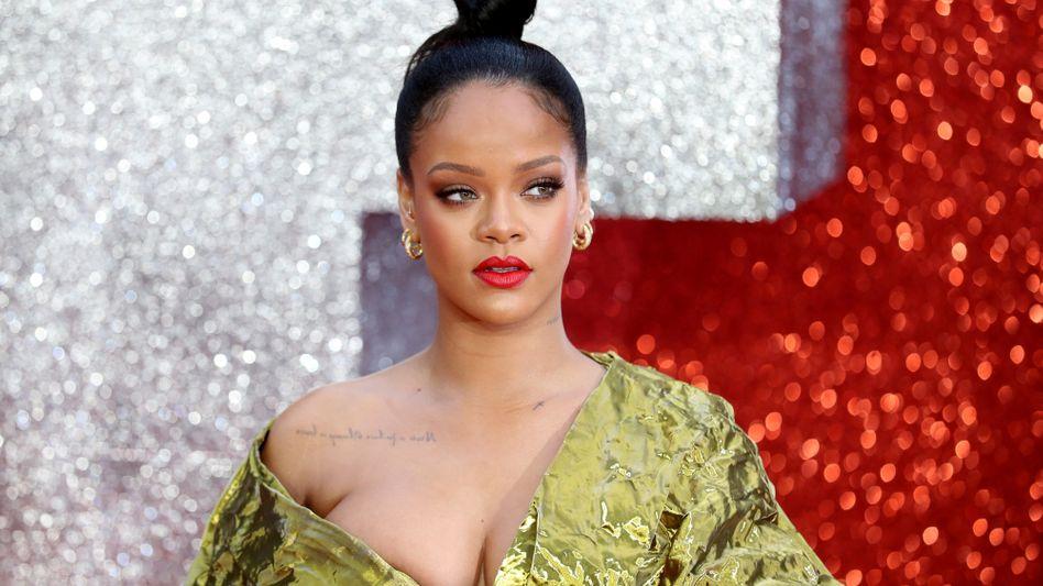 Künftig auch im Luxusgeschäft: Rihanna