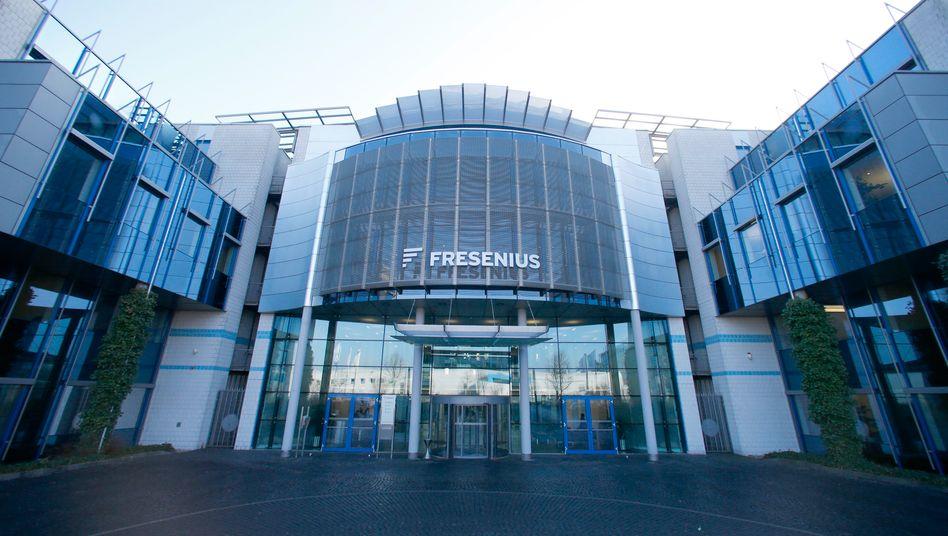 Hier wird zugekauft, was das Zeug hält: Fresenius-Zentrale in Bad Homburg.