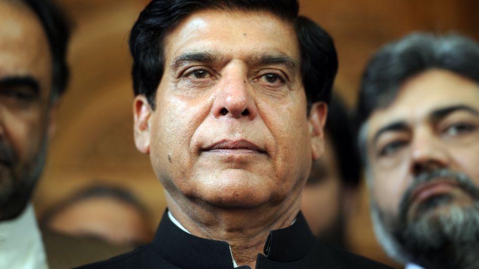 Raja Pervez Ashraf: Im Clinch mit dem Verfassungsgericht