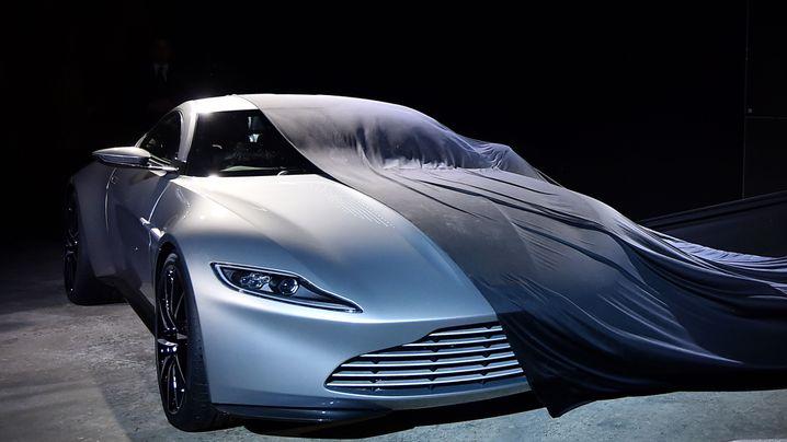 Das Bond-Mobil: Bitte einen Aston Martin