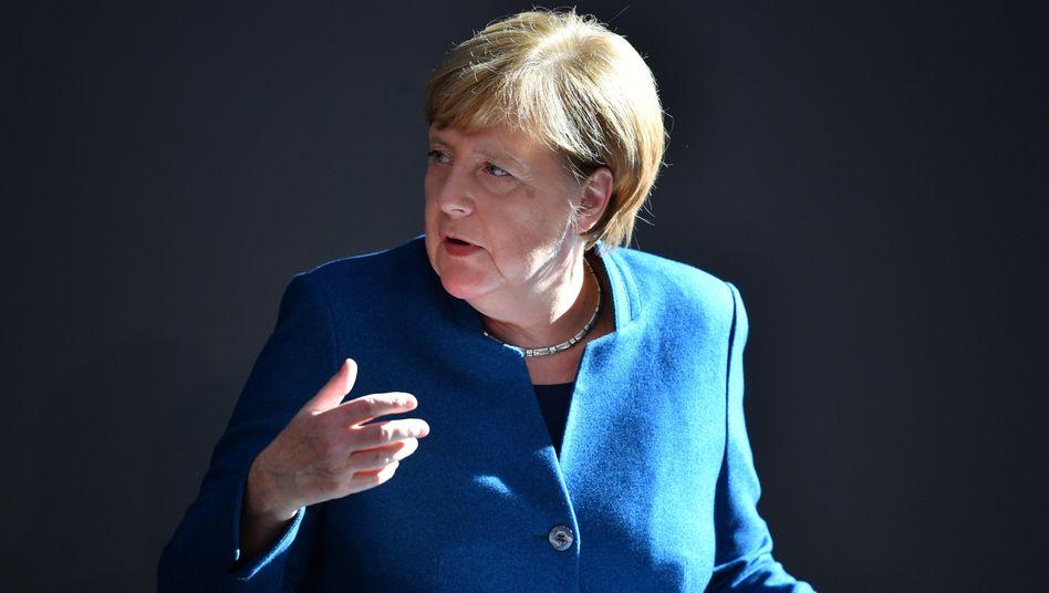 """Kanzlerin Angela Merkel: """"Chance auf gutes und tragfähiges Austrittsabkommen"""""""
