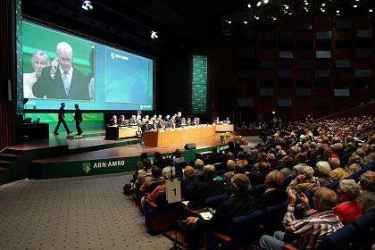 Hauptversammlung ABN Amro: Großaktionäre machen Druck