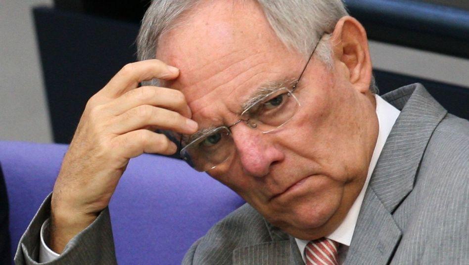 Finanzminister Schäuble: Kein Erfolg bei den Kommunen