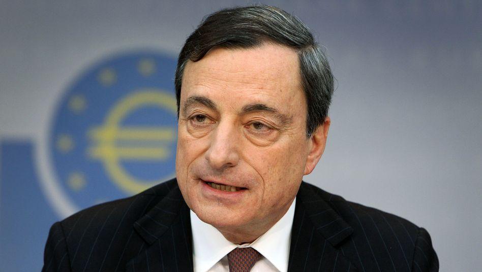 Mario Draghi: Der EZB-Chef sein Niedrigzins-Versprechen gegenüber den Märkten deutlich erneuert