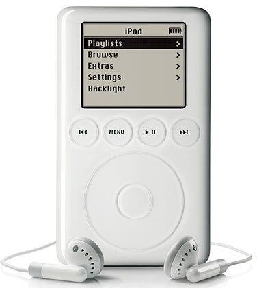 I-Pod: Was Apple bei Computern nicht schaffte, im Geschäft mit Internet-Musik hat der Konzern die Marktführerschaft inne