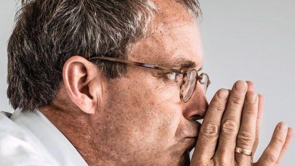 KONZENTRIERTER KÄMPFER Bernd Scheifele plant seinen nächsten Coup