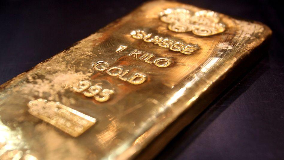 Der Goldpreis hat in Euro ein Rekordhoch erreicht