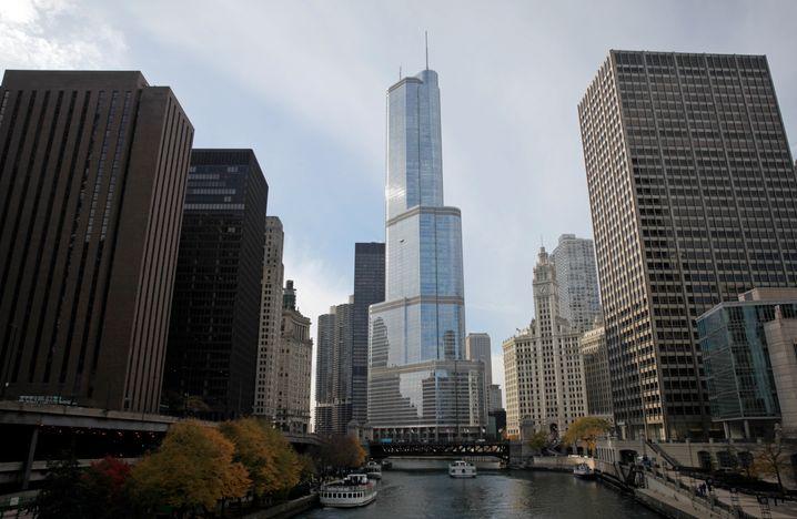 Ausnahme: Im Zentrum von Chicago wird in neue Wolkenkratzer investiert