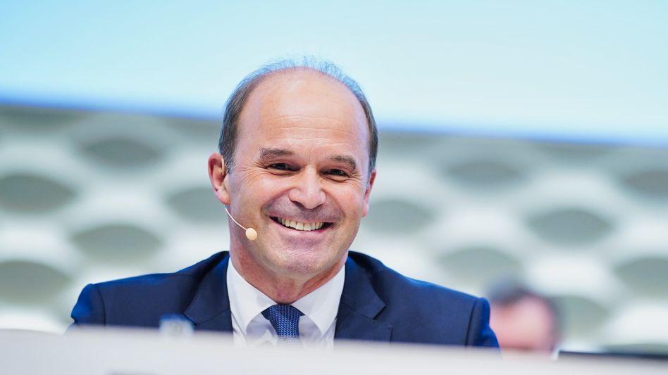 Füllt die Kasse: BASF-Chef Martin Brudermüller