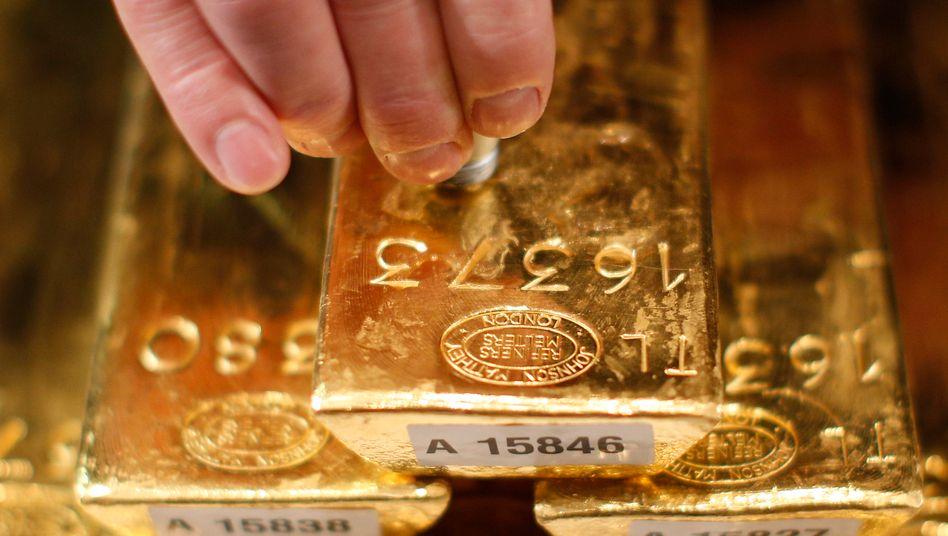 Vermeintlich sicheres Investment: Gold macht Anlegern Freude - solange der Preis steigt